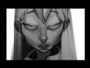 Doki Doki Literature Club Speedpaint - Yuri - Apselene Doodles 14 (SPOILERS)