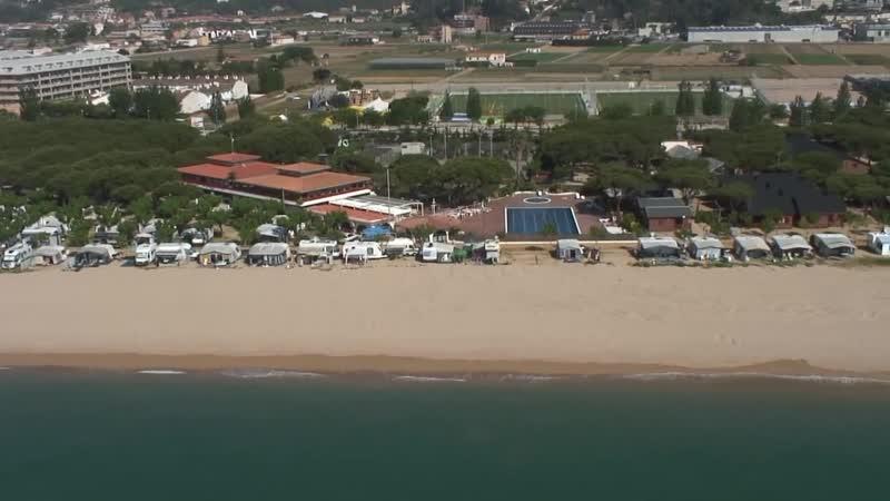 Camping Bungalow Park Bon Repos Santa Susanna Costa de Barcelona