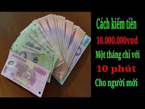 Kiếm tiền online 10 triệu mỗi tháng bằng điện thoại liệu có thật ?