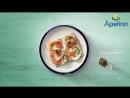 Хлебцы с лососем и брынзой Arla Apetina®