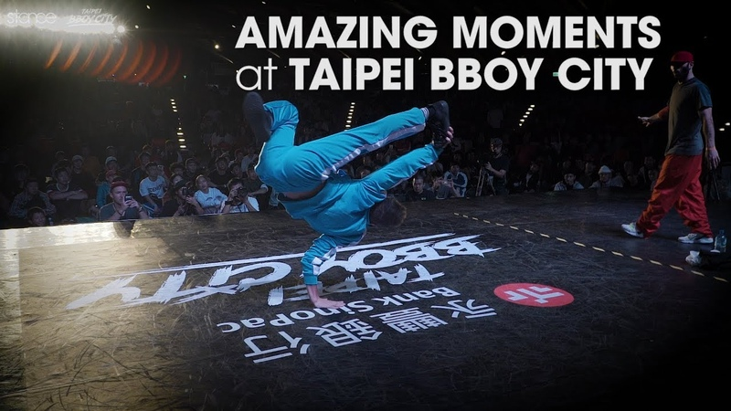 Amazing Moments at TAIPEI BBOY CITY .stance 2018