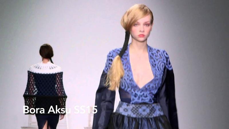 Bora Aksu SS15 at London Fashion Week