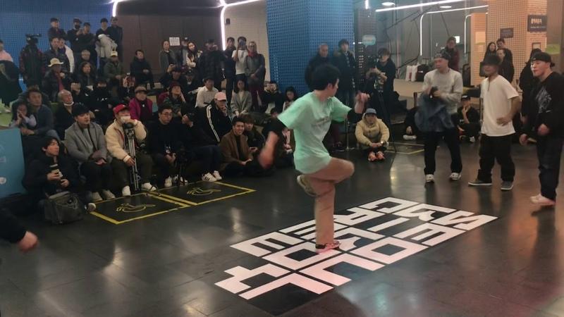 Rush, Soma, Heady vs Ghostwalk, Naughty1, Roo @ 2018 Seoul B-Boy Zone