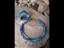 Тропический питон браслет и жгут из бисера