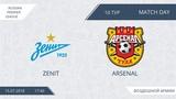 Зенит 42 Арсенал, 10 тур (Россия)