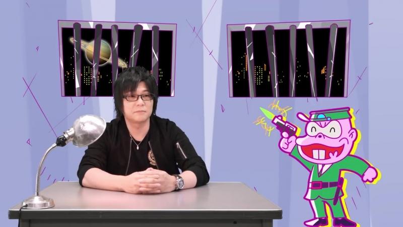 TVアニメ「深夜!天才バカボン」スペシャルムービー 「本官の取調室」第6回ゲスト:森川智之さん(本官役)