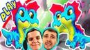 ЧУЖОЙ На Драконьих ОСТРОВАХ БолтушкИ и ПРоХоДиМЦа! 126 Игра для Детей - Легенды Дракономании