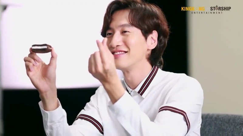 Lee Kwang-soo - Behind the scene Orion Choco Pie CF