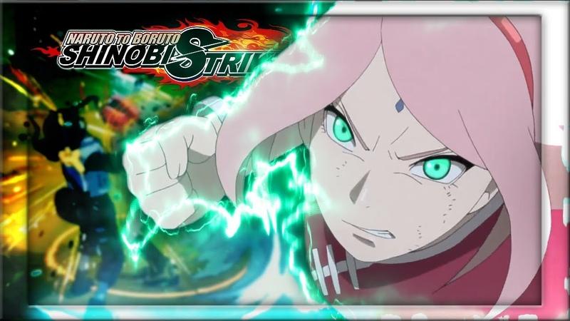 HER FIST OVERPOWERS SWORDS! Naruto to Boruto Shinobi Striker Open BETA Combat Battle Gameplay
