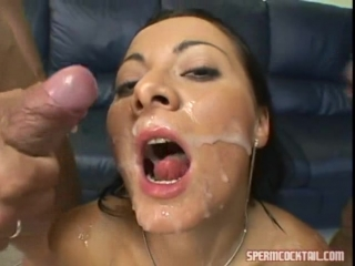 Top 100 swallows from spermcocktail 14 (sandra romain 6 loads)