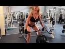 Фитнес Блондинка! Бодибилдинг мотивация