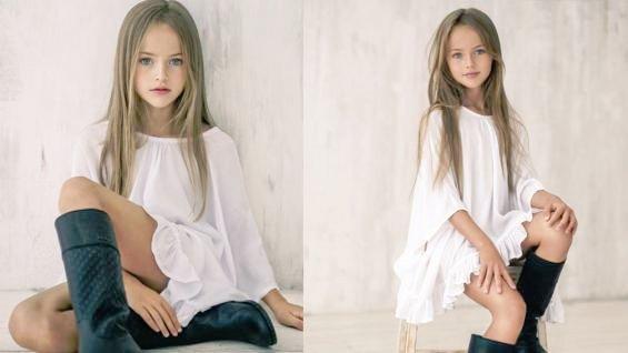 Каким это образом маленькая девочка может выглядеть сексуально?