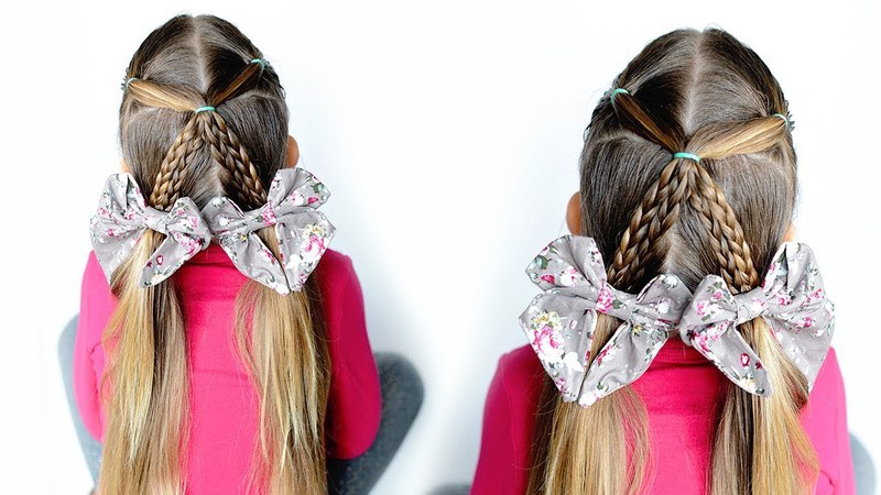 5 minute Braided Pigtails - Cute toddler hairstyles