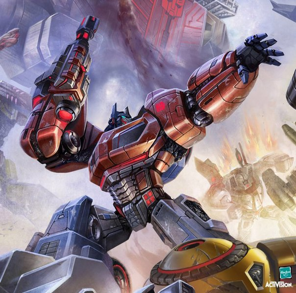 Transformers Fall of Cybertron.