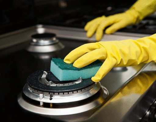 Κак отмыть плиту быстро и легко за 5 минут