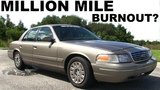 Million-Mile Ford Crown Victoria The STORY, HIGHWAY PULLS, and the BURNOUT....attempt