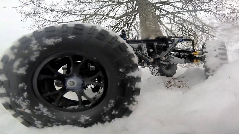 Biwizz 2.0 Test 2- 4x4 offroad chassis