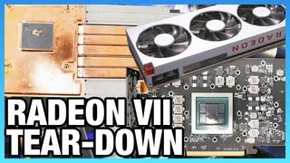 AMD Radeon VII Tear-Down & Graphite Thermal Pad