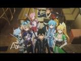 Sword Art Online [ТВ-2] 15 серия русская озвучка OVERLORDS / Мастера Меча Онлайн (2 сезон) рус озв