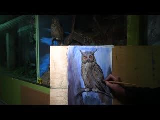 "Мастер-класс по живописи на экспозиции ""Природа Удмуртии"""