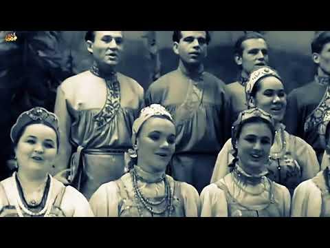 Солнце на закате - Уральский Русский Народный Хор 1962 HD p25