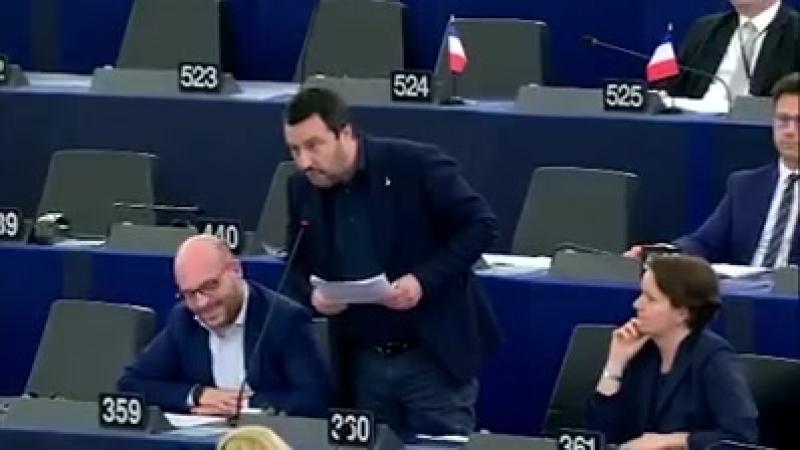 Fuck the EU Salvini zur EU Führung quot Ihr seid nicht normal euch sollte ein sehr guter Arzt therapierenquot Facebook