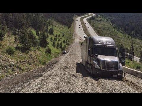 Runaway Truck Use Runaway Ramp 2018