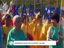 #Тува24 Юбилейный парад в честь 80-летия п. Каа-Хем