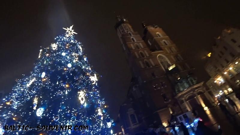Live Краков, Польша / Kraków, Boże Narodzenie, Polska / Krakow, Christmas, Poland