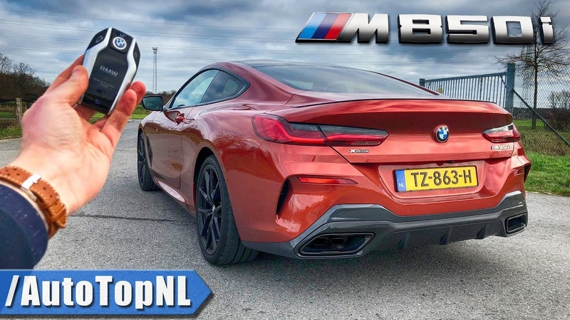 2019 BMW 8 Series Coupe M850i REVIEW POV Test Drive on AUTOBAHN ROAD by AutoTopNL