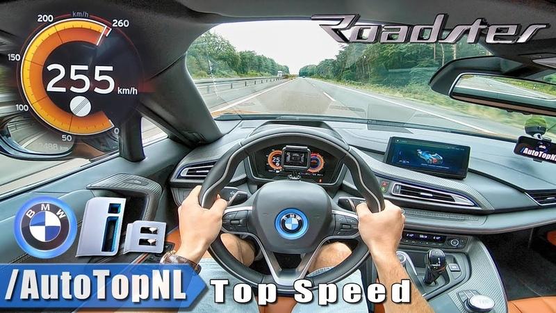 2019 BMW i8 Roadster Autobahn POV TOP SPEED 255km/h by AutoTopNL
