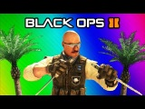 Black Ops 2 Vengeance DLC Funny Moments - Swimming Glitch Fun, Stranded Survivor, Krab Easter Egg