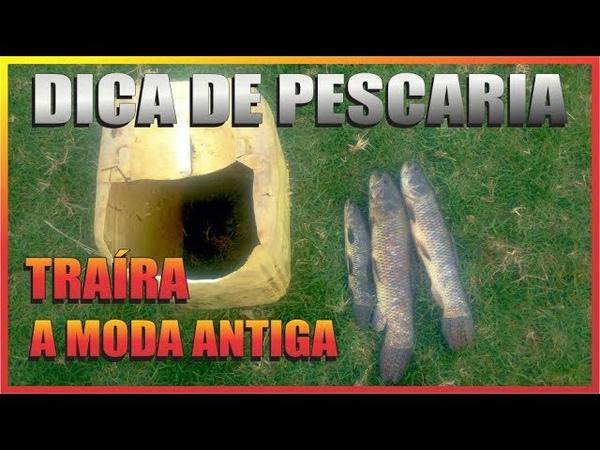 PESCARIA DE TRAÍRA NO ALAGADO | DICA DE PESCA