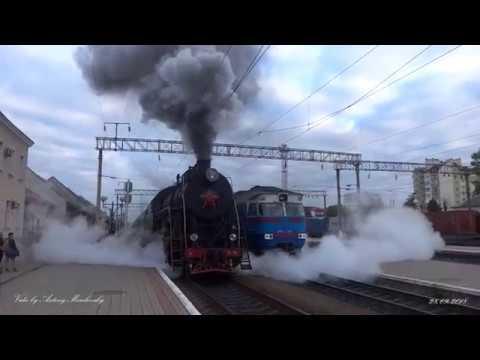 Потяг із паровозом у Тернополі, 28 вересня 2018 року
