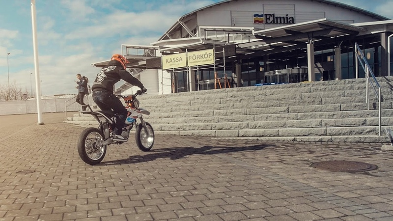 Elliot Gröndahl: KTM Freeride-E at Elmia