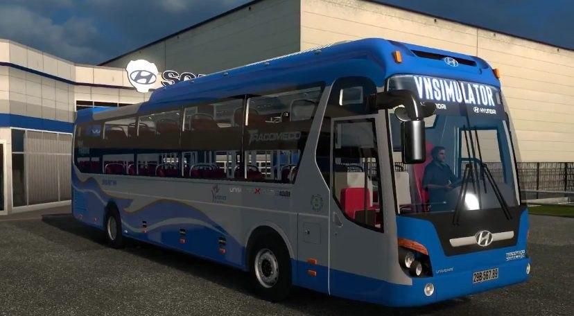 Автобус Huyndai Universe Noble Rework