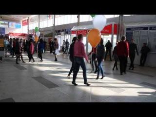 Школа ирландского танца Sionnach - Флешмоб в Стригинском аэропорту 15.03.2014