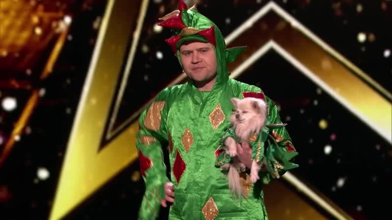 Piff The Magic Dragon_ Hilarious Magician Shocks Heidi Klum - Americas Got Talent_ The Champions