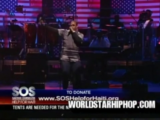 Busta Rhymes. + Nas & Damian Marley - Strong Will Continue Live @ from Help for Haiti