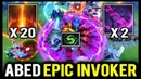 ABED INVOKER 20x SUN STRIKE Beautiful Combo Double Cataclysm Epic Game
