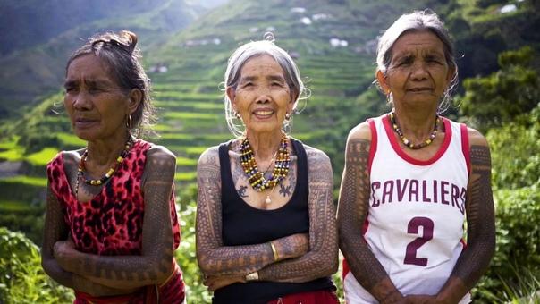 101-летняя художница-татуировщик из Филиппин. В мире влиятельных татуировщиков филиппинка Ванг Од Оггей занимает особое место благодаря своей отваге увековечить сохранность старинного стиля