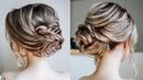 Cute Braid Updo hairstyles 2018 | Simple Braided Bun Tutorial