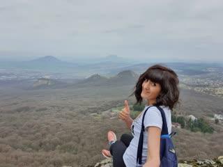 Вершина Бештау. Орлиные горы,
