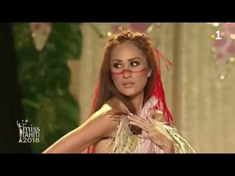 Tamariki Poerani - Miss Tahiti 2018