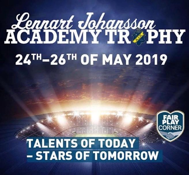 cfbf98b4ea6 24-26 мая в Стокгольме (Швеция) проходит один из самых престижных турниров  Европы «Lennart Johansson Academy Trophy 2019». Турнир носит имя  экс-президента ...