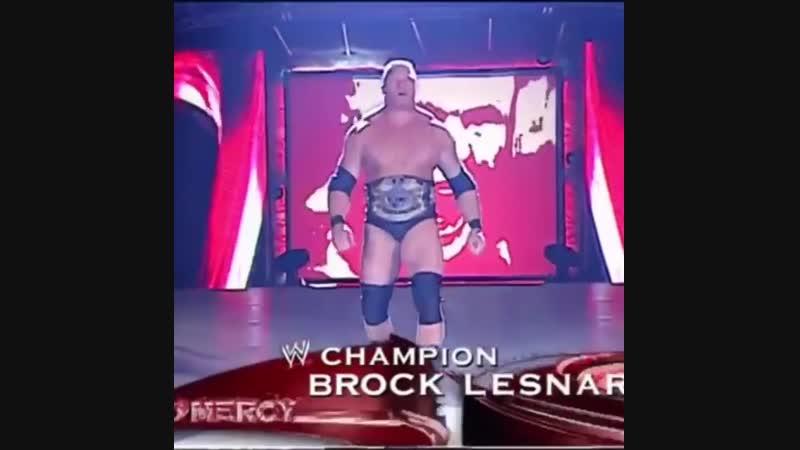 Brock Lesnar's entrance 2002 No Mercy