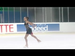 Анна Тарусина - участница III этапа Кубка России Ростелеком