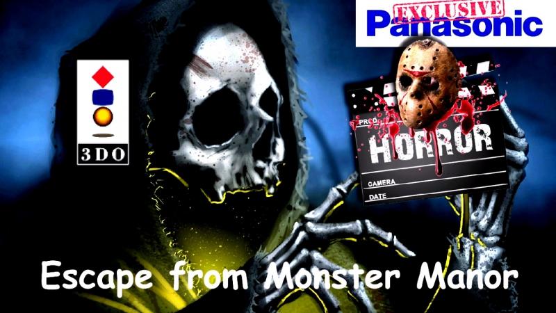 Virtual Horror - Norowareta Tachi Escape From Monster Manor / Studio 3DO [ Panasonic 3DO / ЭМУЛ 4DO ].FPS.50/HD.720.p