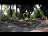 Начало реконструкции старого парка