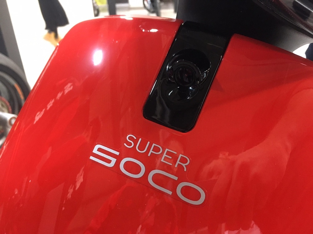 EICMA 2018: электроцикл Super SOCO TC MAX 2019